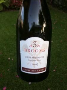 3 Brooms Sauvignon Blanc 2009