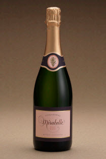 Schramsberg Brut Rose Mirabelle bottle