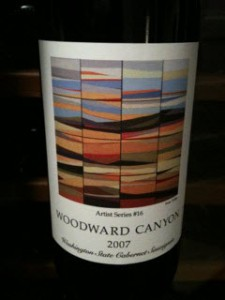 Woodward Canyon 2007 Cabernet Artist Series #16