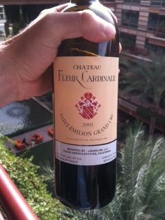Chateau Fleur Cardinale bottle