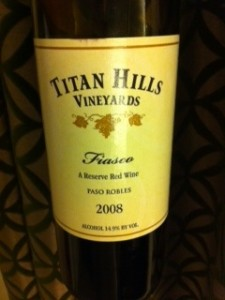 Titan Hills Fiasco bottle image
