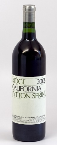 Ridge Lytton Springs 2008