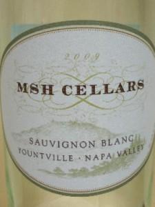 MSH Sauvignon Blanc Label