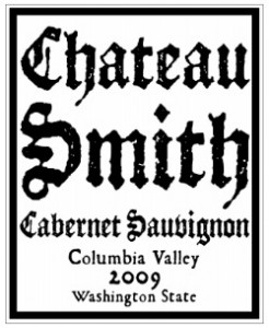 Chateau Smith 2009 Label
