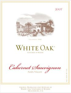 White Oak 2007 Label