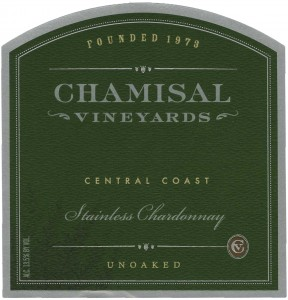 Chamisal Vineyards Stainless Chardonnay