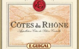Guigal Cotes du Rhone Label