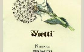 Vietti Nebbiolo Perbacco Label