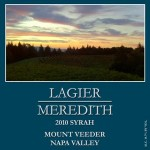 '10 Lagier Meredith Syrah - One of the World's Best ($41.95, RP94)