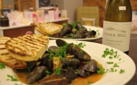 Chalk Hill and Mussels