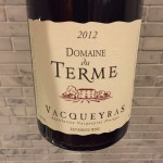 A Potential 92 Point Vacqueyras for $16 - Domaine du Terme (IWC 90-92)