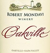 Mondavi Oakville Label