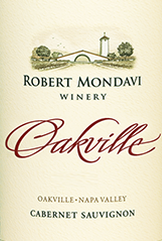 Mondavi Oakville Label