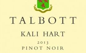 Talbott Kali Hart 2013 Pinot Noir Label