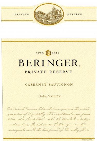 Beringer PR Label