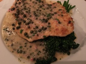 Nook Chicken Paillard